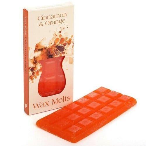 Cinnamon & Orange Wax Melts, Pintail Candles, Wax Melt Burner Melts